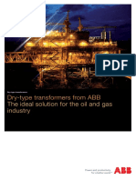 Dry-type Transformers for the Oil and Gas Industry