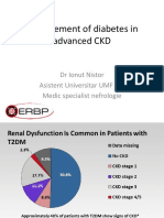 Management of Diabetes in Advanced CKD Suceava[1]