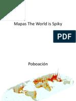 Mapas the World is Spiky