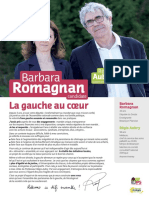 Barbara Romagnan - Législatives 2017 - Profession de foi (1er tour)