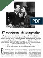 Monterde El Melodrama Cinematografico