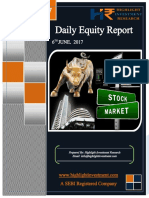Equity Daily Report 6 June 2017
