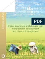 Index Insurance and Climate Risk Climate and Society Issue Number 2