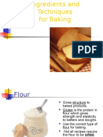 Baking Basics and Quick Breads- WEST
