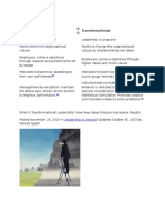 What is Transformational Leadership.docx