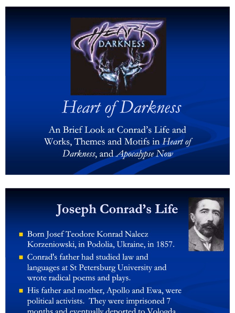 selfishness and cruelty in the heart of darkness by joseph conrad Heart of darkness [special edition] (annotated) (english edition) ebook: joseph conrad: amazoncombr: loja kindle.