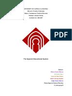 trabajo sistema educativo