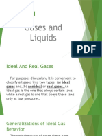 Chapter 1 Gases and Liquids