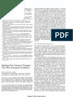 Rowley Conwy 1995 Prvi Farmeri Zapadna Evropa