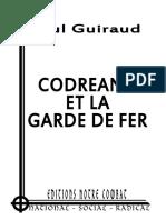 Guiraud Paul - Codreanu et la Garde de Fer