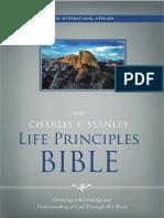 The Charles F. Stanley Life Principles Bible, NIV