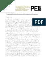 Reglamento Programa de Estudios Latinoamericanos Contempora Neos y Comparados