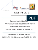 Black Expo Job Fair Save the Date With Logos