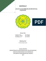 REFERAT Komplikasi Regional Anestesi