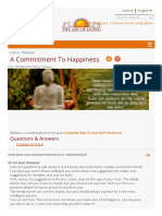 A Commitment to Happiness _ Art of Living India