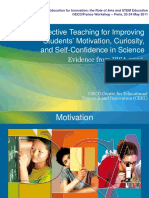 Effective Teaching for Students Motivation