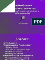 Motivational Workshop for Teachers