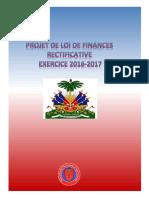 Projet de Loi de Finances Rectificative 16-17