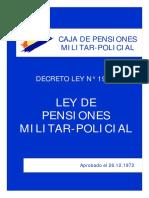 Ley y Reglamento de Pensiones Militar Policial_24ABRIL2017