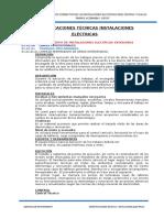 Especificaciones i.e. - Educacion