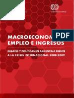 OIT - Macroeconomía Empleo e Ingresos Debates y Políticas en Arg frente a la crisis internacional 2008-2009.pdf