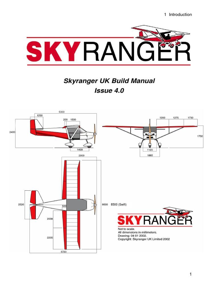Skyranger UK Build Manual Issue 4   Homebuilt Aircraft   Nut (Hardware)