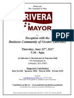 Rivera - Spring 2017 Biz Reception