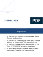 Guidelines in Filling Up the Templates