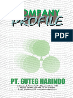 Company Profile PT.guteg Harindo 2013
