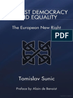 Against Democracy and Equality - Tomislav Sunic (2011)