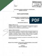 Texto Sustitutorio de La CPAAAAE