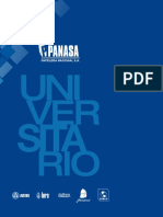 Catalogo Universitario Panasa