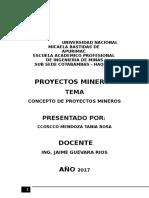 Proyectos Trabajo 2017
