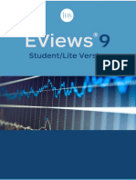 EViews 9 Student Version