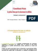 Committente Privato in Edilizia Indicazioni Di Sicurezza(1)