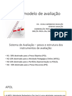 Novo Modelo de Avaliação-EAD-02022017