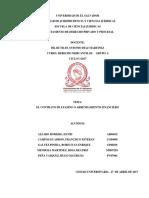 Contrato de Leasing o de Arrendamiento Financiero.