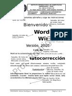 Laboratorio 002 Word 2010