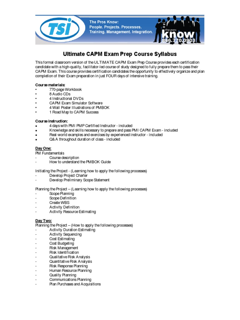 Capmsyllabuspdf project management production and manufacturing xflitez Image collections