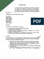 Acuerdo Rectoria Feusach 16 Septiembre 2015