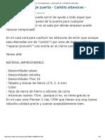 BRICO_ Desmontaje Puerta - Cambio Altavoces – a W169 _ Mercedes-Benz