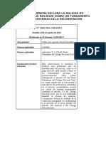 CASACIÓN N° 15652-2014 AREQUIPA