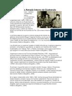 Conflicto Armado Interno de Guatemala