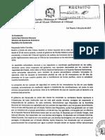 Gobernador de Miranda envía carta abierta a canciller de Guatemala en la OEA