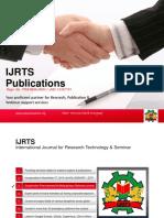 IJRTS Publications Intro