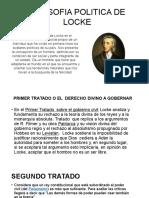 Filosofia Politica de Locke Dayana