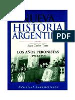 Caimari El Peronismo en La Iglesia catolica Nva Hist Arg Tomo8