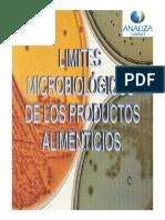 Limites Microbiológicos de Los Alimentos Con Normas Iso