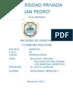 monografia-CRIMINALISTICA- MANCHAS HEMATICAS.docx