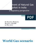 Developement of Natural Gas Market in India a Regulatory Perspective Basudev Mohanty